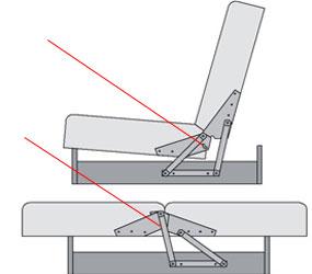 Ремонт раскладного механизма дивана